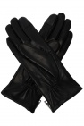 AllSaints 'Zipper' leather gloves
