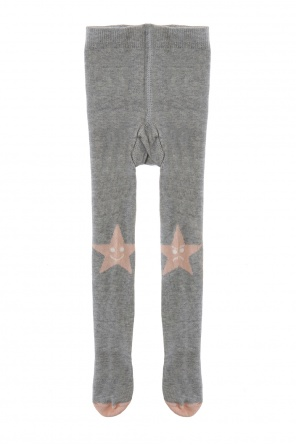 Star-embroidered pantyhose od Stella McCartney Kids