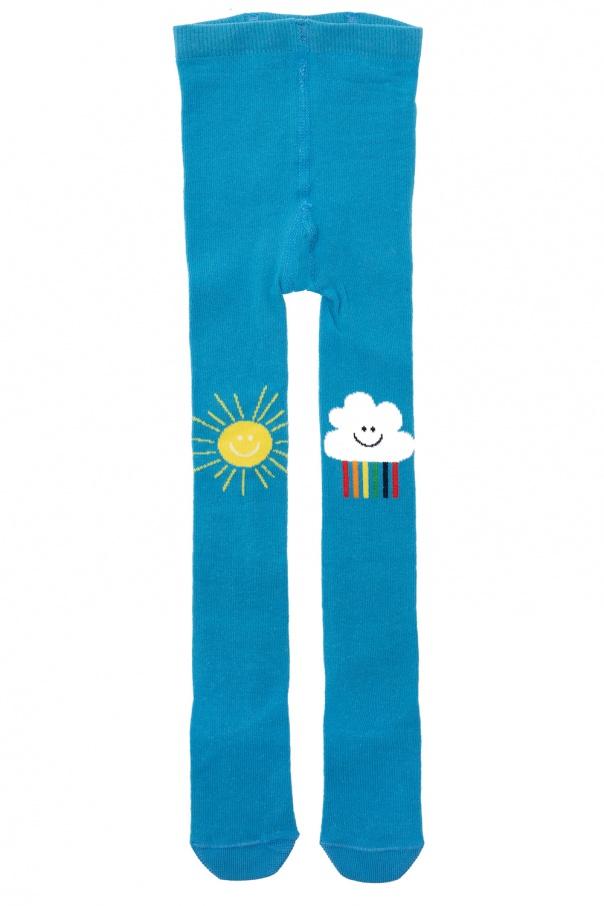 Stella McCartney Kids Embroidered tights