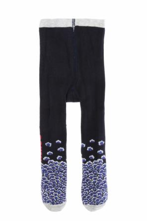 Patterned tights od Kenzo Kids