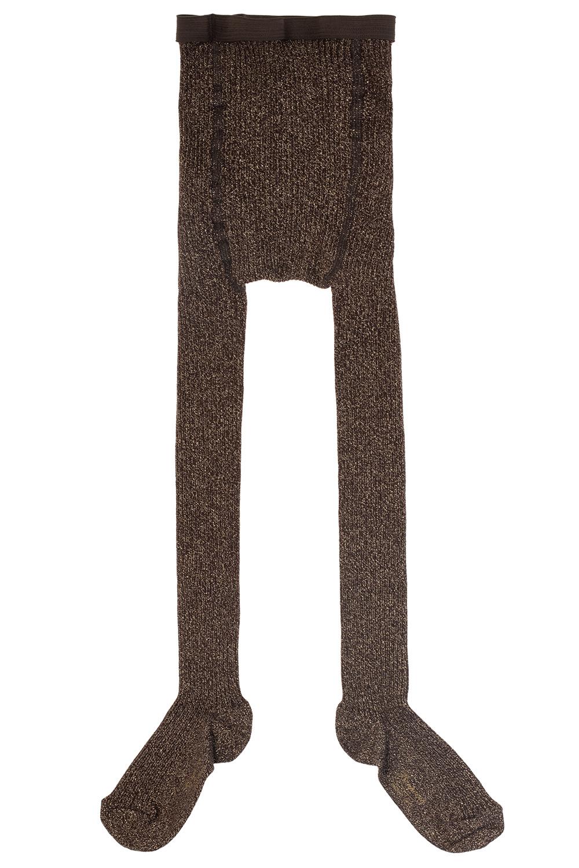 Bonpoint  Lurex-trimmed tights