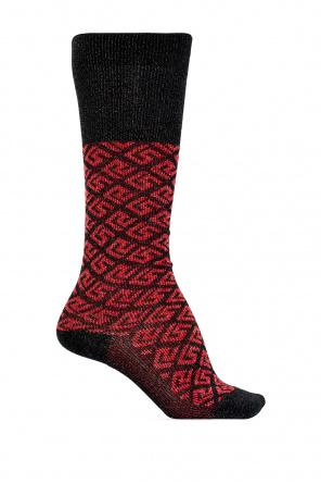 Monogrammed socks od Versace