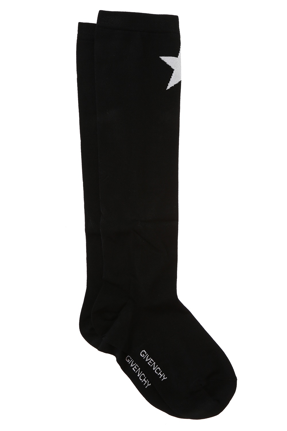 Givenchy Embroidered star long socks