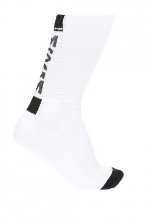 Socks with embroidered logo od MSGM