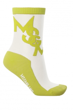 Socks with logo od MSGM