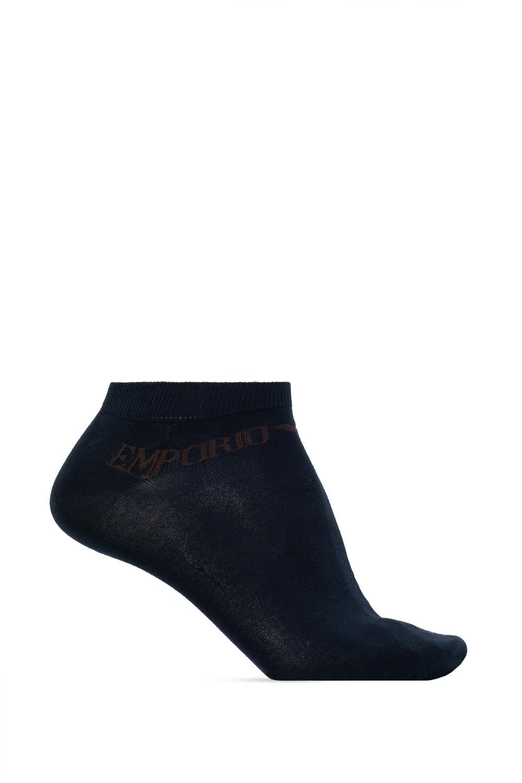 Emporio Armani Branded socks three-pack