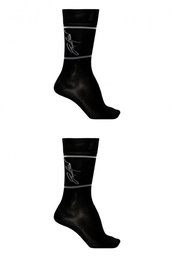 Emporio Armani Branded socks two-pack