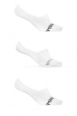 Branded socks three-pack od Emporio Armani