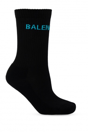 Logo socks od Balenciaga