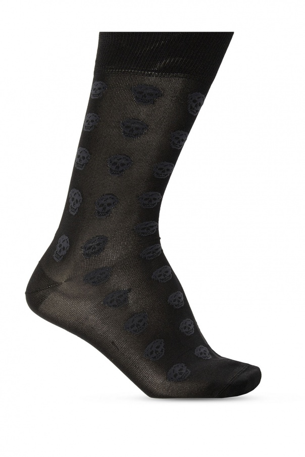 Alexander McQueen Socks with logo