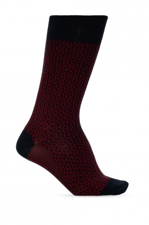 Patterned socks od Salvatore Ferragamo