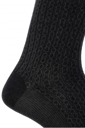 Patterned socks od Salvatore Ferragamo