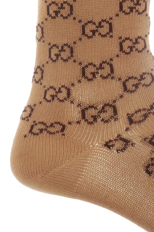 Gucci Skarpety ze wzorem z logo