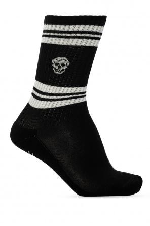 Skull motif socks od Alexander McQueen
