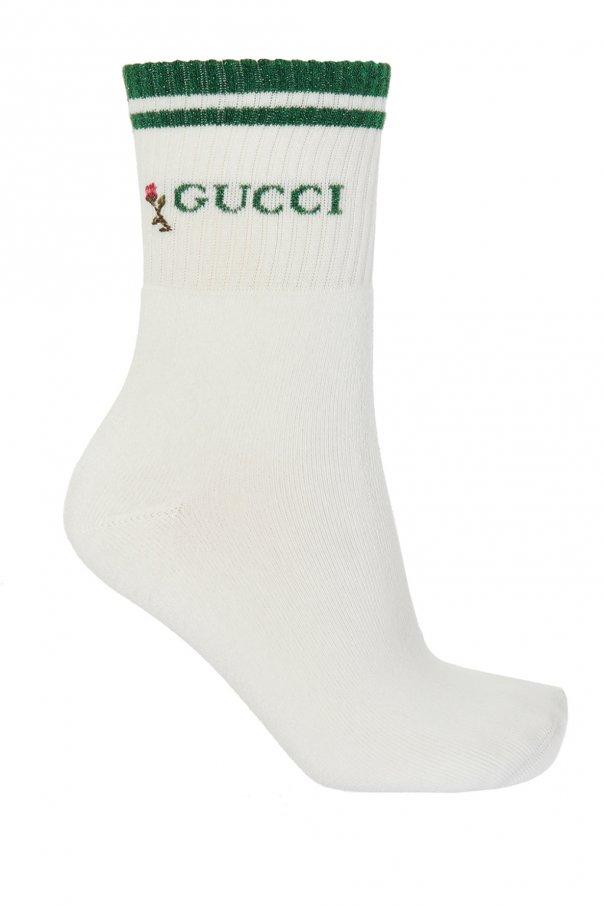 Gucci Logo-embroidered socks