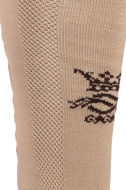 Gucci Długie skarpety z logo