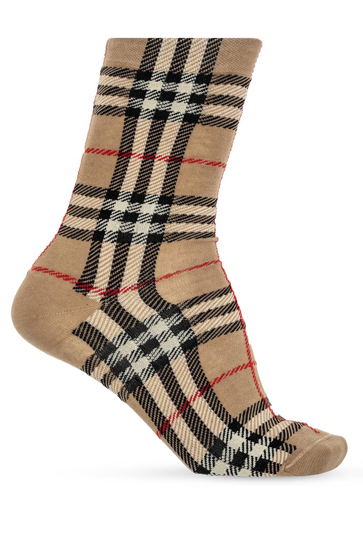 Burberry Checked socks
