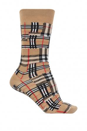 Checked socks od Burberry