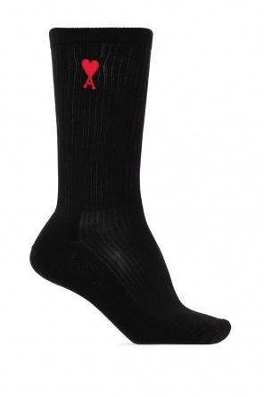 Socks with logo od Ami Alexandre Mattiussi
