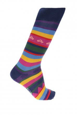 Socks with embroidered crab motif od Paul Smith