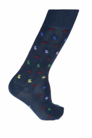 Embroidered pattern socks od Paul Smith