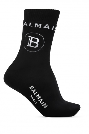 Logo socks od Balmain