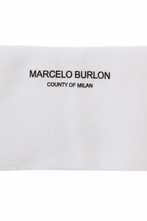 Logo-embroidered long socks od Marcelo Burlon