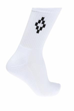 Logo-embroidered socks od Marcelo Burlon