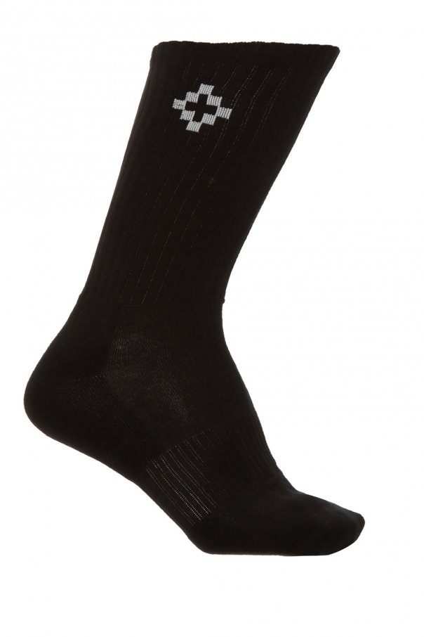 Marcelo Burlon Socks with logo