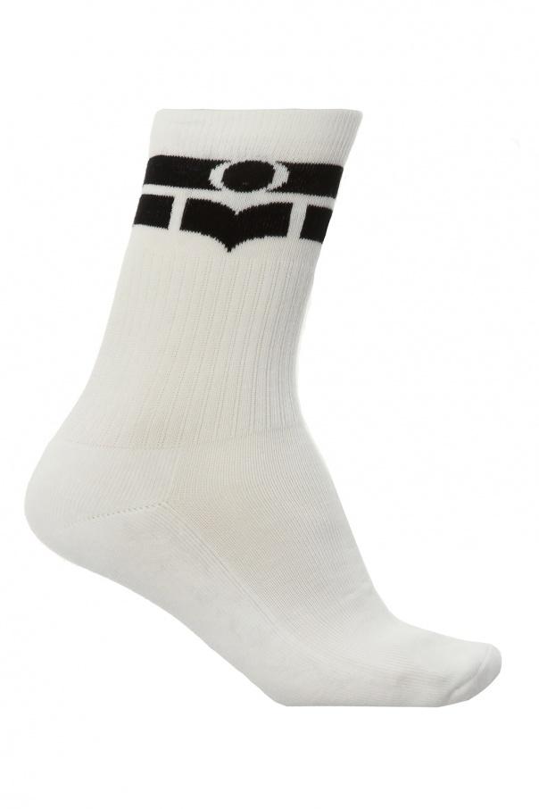 Isabel Marant Socks with logo