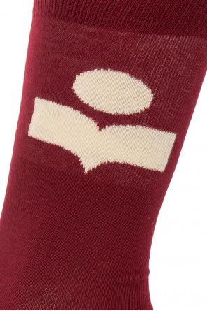 Logo socks od Isabel Marant
