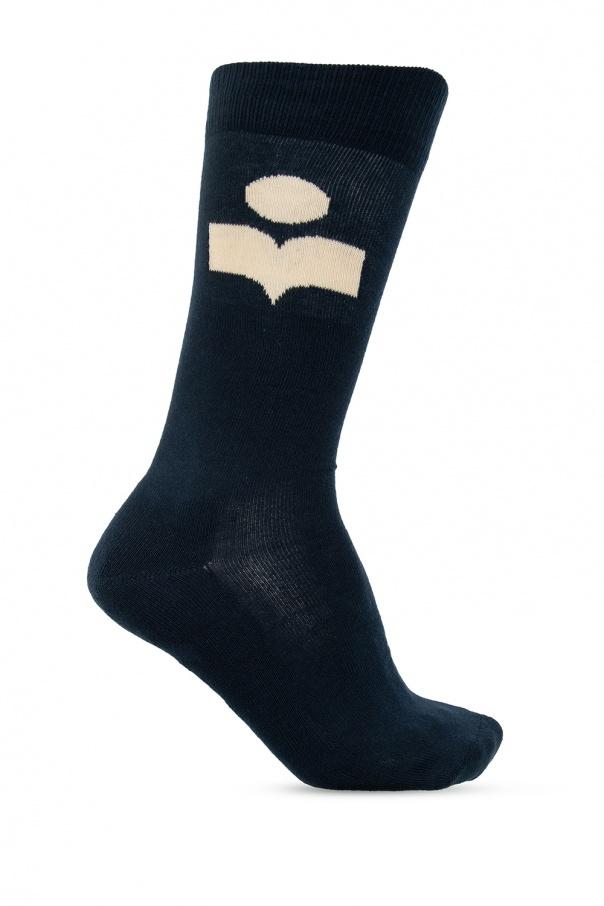 Isabel Marant Logo socks