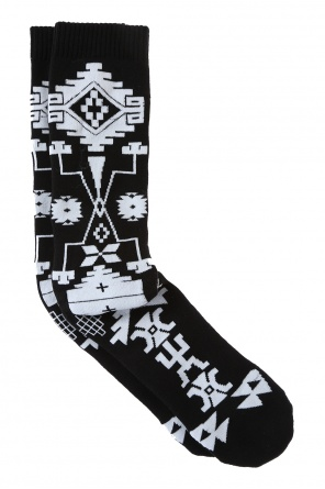 Logo knee socks od Marcelo Burlon