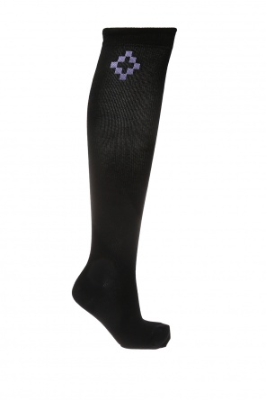 Logo over-the-knee socks od Marcelo Burlon