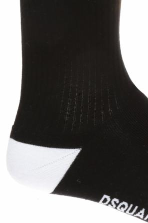 Long socks with logo od Dsquared2