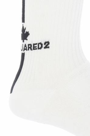 Logo-embroidered socks od Dsquared2
