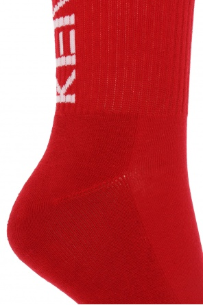 Logo-embroidered socks od Kenzo