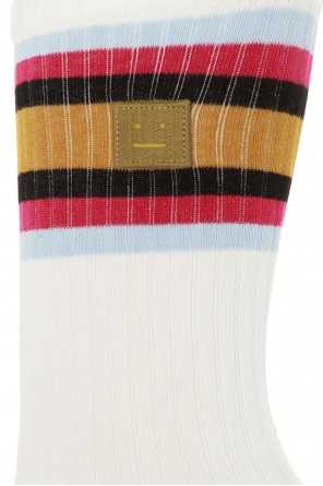 Embroidered socks od Acne