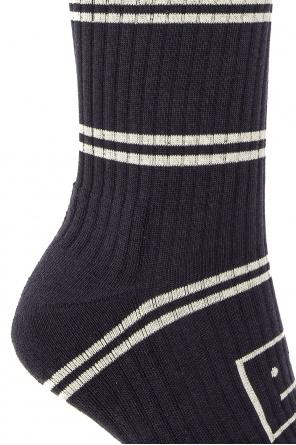Ribbed socks od Acne