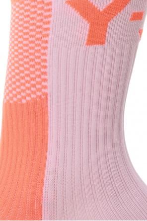 Logo socks od Y-3 Yohji Yamamoto