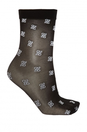 Patterned socks od Fendi