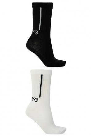 Logo socks 2-pack od Y-3 Yohji Yamamoto
