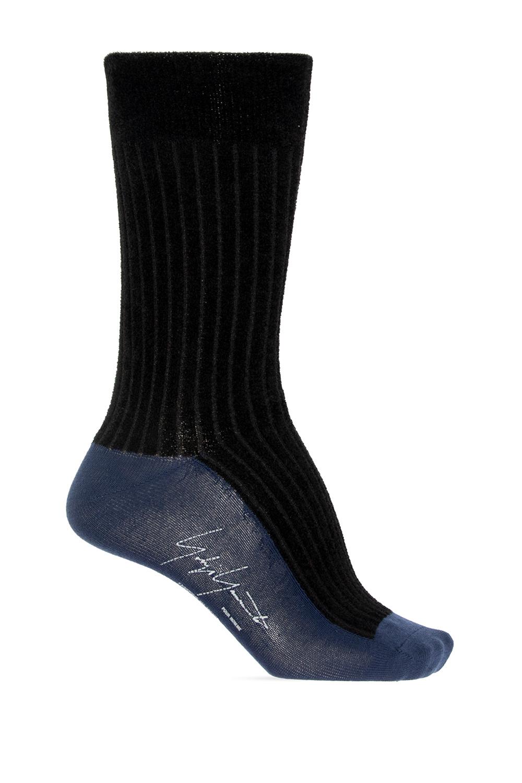 Yohji Yamamoto Socks with logo