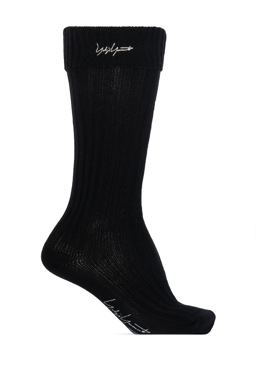 Yohji Yamamoto Long socks with logo