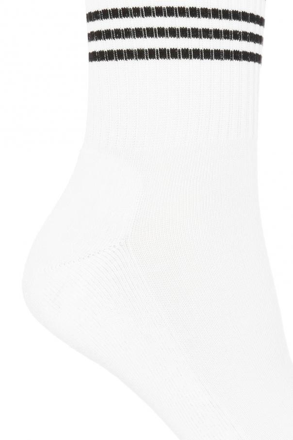 Logo-embroidered socks od Versace