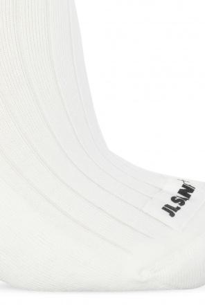 Socks with logo od JIL SANDER+