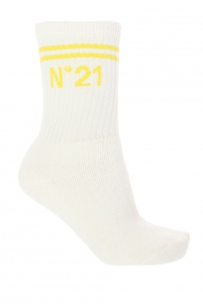 Logo-embroidered socks od N21