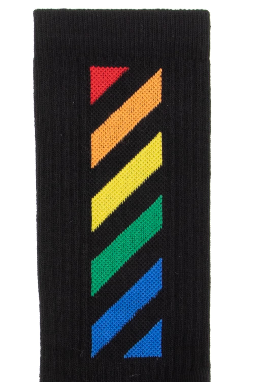 Off-White Kids Socks with logo