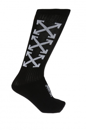 Logo socks od Off White