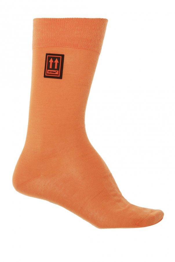 Appliqued socks od Off White
